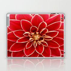 Red Dahila Laptop & iPad Skin