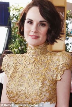 Posh? But I'm an Essex girl, says Lady Mary: Michelle Dockery says her upbringing couldn't be further from her most famous role