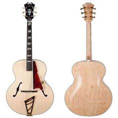 #Dangelico Usa #Masterbuilt 1942 Natural #guitars