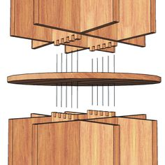 Revolving Bookcase Woodworking Plan by Sawtooth Ideas Woodworking For Dummies, Woodworking Tools For Sale, Youtube Woodworking, Woodworking Workbench, Woodworking Projects Diy, Workbench Plans, Woodworking Classes, Woodworking Videos, Revolving Bookcase