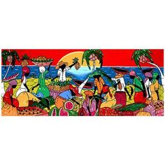 Trademark Fine Art Full of Life Canvas Art, Size: 6 x 19, Multicolor