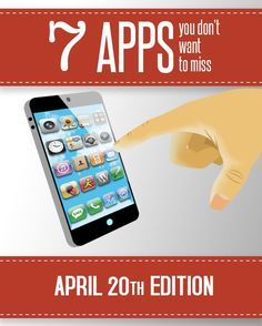 Check out the best new apps for this week. There are some great finds! This pin is for you http://blogregateapps.com