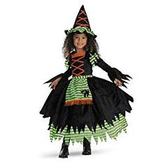 The Toddler Deluxe Story Book Witch Costume is the best 2019 Halloween costume for you to get! Everyone will love this Baby/Toddler costume that you picked up from Wholesale Halloween Costumes! Disfarces Halloween, Halloween Costumes For Girls, Halloween Fancy Dress, Family Halloween, Toddler Witch Costumes, Baby Costumes, Little Girl Witch Costume, Costume Rouge, Witch Dress
