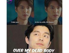 Heirs Korean Drama, Korean Drama Funny, Korean Drama List, Korean Drama Quotes, Korean Drama Movies, Stupid Funny Memes, Funny Facts, Hilarious, Goblin Funny