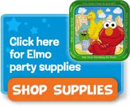 Yay Toys'R'Us has a whole 1st birthday party section where you can choose a theme, decorations, etc.  Best part?  They have ELMO!