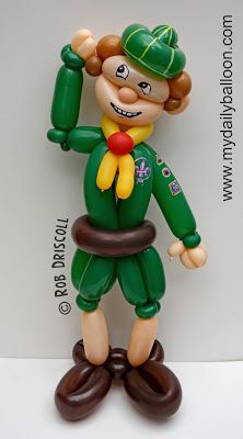 My Daily Balloon: 17th August - Scout