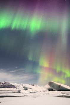 Bucket list. Northern lights