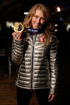 Mikaela Shiffrin, Alpine Skiing, Olympians, Winter Sports, Woman Crush, Sports Women, Superstar, Champion, Winter Jackets