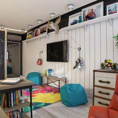 детская комната для мальчика подростка