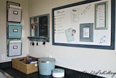 Organize your family with this command center idea! http://www.shoplet.com/Quartet-iQTotal-Erase-Board/QRTTM2316/spdv