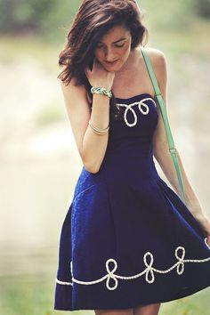 Nautical Lilly Pulitzer dress...love doesn't even begin to describe it!