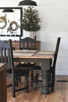 Awesome 90 Modern Farmhouse Dining Room Decor Ideas https://homearchite.com/2018/01/15/90-modern-farmhouse-dining-room-decor-ideas/