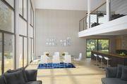 Bright modern house plan