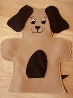 Dog/Animal Puppets: a consideration for the youngest age group of boys...