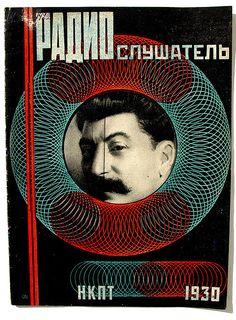 RARE 1930 RUSSIAN RODCHENKO DESIGN AVANT-GARDE COVER MAGAZINE