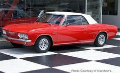 1965 Chevy Corvair Corsa Turbo Convertible