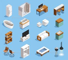Modern Furniture Icons Collection
