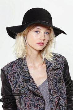Felt Floppy Hat - practically perfect in every way!