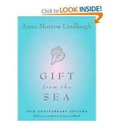 I have read this book so many times, sometimes only certain sections or passages.  The gentle, meditative, and lush prose by Anne Morrow Lindburgh takes its time entering your soul.  Some literary purists would be horrified at my treatment of my copy, but I have underlined and written notes throughout the text, all the quicker to find my favorite passages.