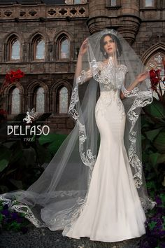 Spanish Wedding Dress Designer Beautiful Дания Belfaso Bridal Designer Belfaso Wedding Gowns Country Wedding Dresses, Wedding Dresses Plus Size, Princess Wedding Dresses, Modest Wedding Dresses, Elegant Wedding Dress, Bridal Dresses, Wedding Gowns, Lace Wedding, Gothic Wedding