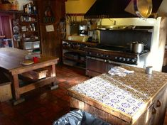 The old kitchen. Mabel Dodge Luhan, New York Socialites, Old Kitchen, Big Houses, Tao, Trip Advisor, Entryway Tables, Old Things, Home Decor