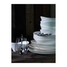 SKYN Piatto fondo IKEA Porcellana fine: un materiale sottile e leggero e al tempo stesso molto resistente.