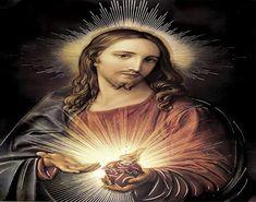 Duchovná kytička k Srdcu Pána - mesačná pobožnosť Wall Art Prints, Poster Prints, Heart Of Jesus, Religious Images, Sacred Heart, Panama, Jesus Christ, Mona Lisa, Original Art