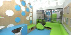Teenage and pediatric waiting room for Addenbrooke's Hospital