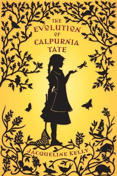 A beautiful cover for a truly remarkable book and title character.  books4yourkids.com: The Evolution of Calpurnia Tate, written by Jaqueline Kelly, 338 pp, RL 4