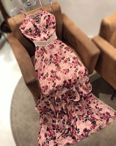Party Wear Dresses, Cute Dresses, Casual Dresses, Mode Outfits, Stylish Outfits, Girl Outfits, Girls Fashion Clothes, Fashion Dresses, Maroon Prom Dress
