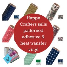 Where to Buy Patterned or Printed Adhesive or Heat Transfer Vinyl