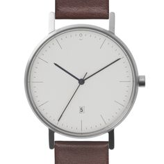 Stock Watches are a minimal watch and personal goods design company. Cool Watches, Watches For Men, Dezeen Watch Store, Mens Designer Watches, Seiko Watches, Beautiful Watches, Watch Brands, Marc Jacobs, Black Leather