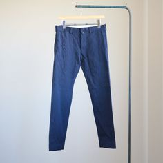YAECA - Chino Cloth Pants - narrow #navy