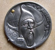 Bob Shamey - The General Hobo Nickel, Old Coins, Coin Collecting, Old And New, Carving, Stamp, Soldiers, Warriors, Cactus