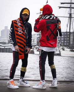 Shop for premium streetwear clothing from the world's top-tier brands. Best streetwear deals for: T-Shirts, Snapback Hats, Outerwear, Accessories. Mode Masculine, Mode Streetwear, Streetwear Fashion, Streetwear Clothing, Style Board, Off White Fashion, Off White Clothing, Off White Blazer, Hype Clothing