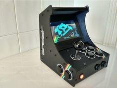Pi Arcade, Arcade Bartop, Retro Arcade, Arcade Games, Usb Speakers, Arcade Machine, Tool Design, Vr, Consoles