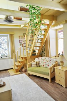 Nagyon baba! Tündérmesébe illő dél-pest megyei, romantikus álomházikó Baba, Pesto, Stairs, Loft, Furniture, Home Decor, Stairway, Decoration Home, Room Decor