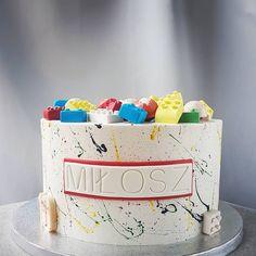 Lego Cake, Cake Boss, Cake Art, Food Porn, Birthday Cake, Desserts, Blog, Instagram, Tailgate Desserts