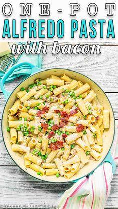Pin image Yummy Pasta Recipes, Pea Recipes, Healthy Dinner Recipes, Delicious Recipes, Tasty, Cheap Meals, Easy Meals, Eggless Recipes, Fall Dinner Recipes