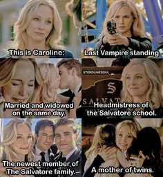 Caroline Forbes, Vampire Diaries, The Originals, Guys, Collection, The Vampire Diaries, Sons, Boys