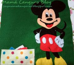 Escribe tu nombre con Mickey Mouse Quiet Book