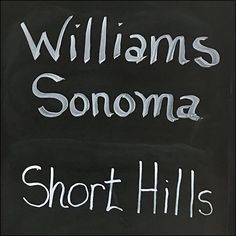 Williams Sonoma Short Hills Mall Shopping Safari – Fixtures Close Up Short Hills Mall, Williams Sonoma, Shopping Mall, Close Up, Hand Lettering, Cookware, Safari, Boards, Retail