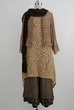 Ivey Abitz 's clever layering and 19th century style