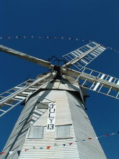 Upminster Windmill, Upminster, Essex, England - The last surviving smock mill (circa 1803) in the UK