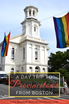 How to take a day trip to Provincetown from #Boston. #CapeCod #UnitedStates