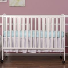 Full Size Folding Convertible Crib