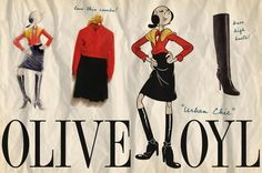 Vintage stylist Courtney Lowe has put together vintage inspired looks for fashionista Olive. This urban chic look is a classic! 40s Fashion, Vintage Fashion, Fashion Outfits, Urban Chic Looks, Popeye The Sailor Man, Olive Oyl, Cute Boots, Mom Outfits, Girl Cartoon