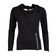 Olsen Asymetric Sweater with Zip