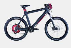 Stylish electric transport bike