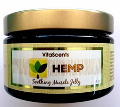 VitaScents Hemp Oil Soothing Muscle Jelly for Muscular Pain Relief by VitaScents -- Awesome products selected by Anna Churchill Muscle Pain Relief, Neck And Back Pain, Alternative Treatments, Cannabis Oil, Sore Muscles, Hemp Oil, Jelly, Massage, Beauty